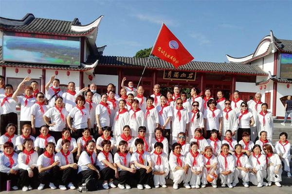 君山区太极拳协会庆六一活动